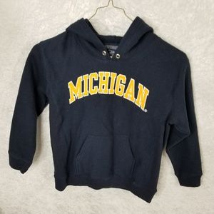 Steve & Barrys Michigan Hoodie Sweatshirt Sz 6-7